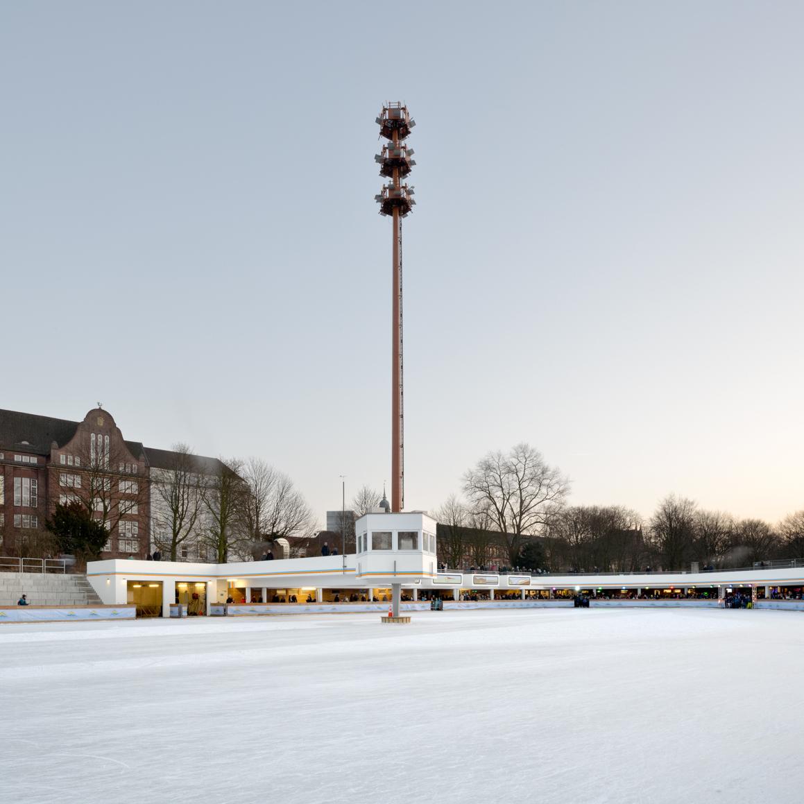 AIT-Award 2020: Sanerung und Erweiterung der historischen Eisbahn im Park Planten un Blomen