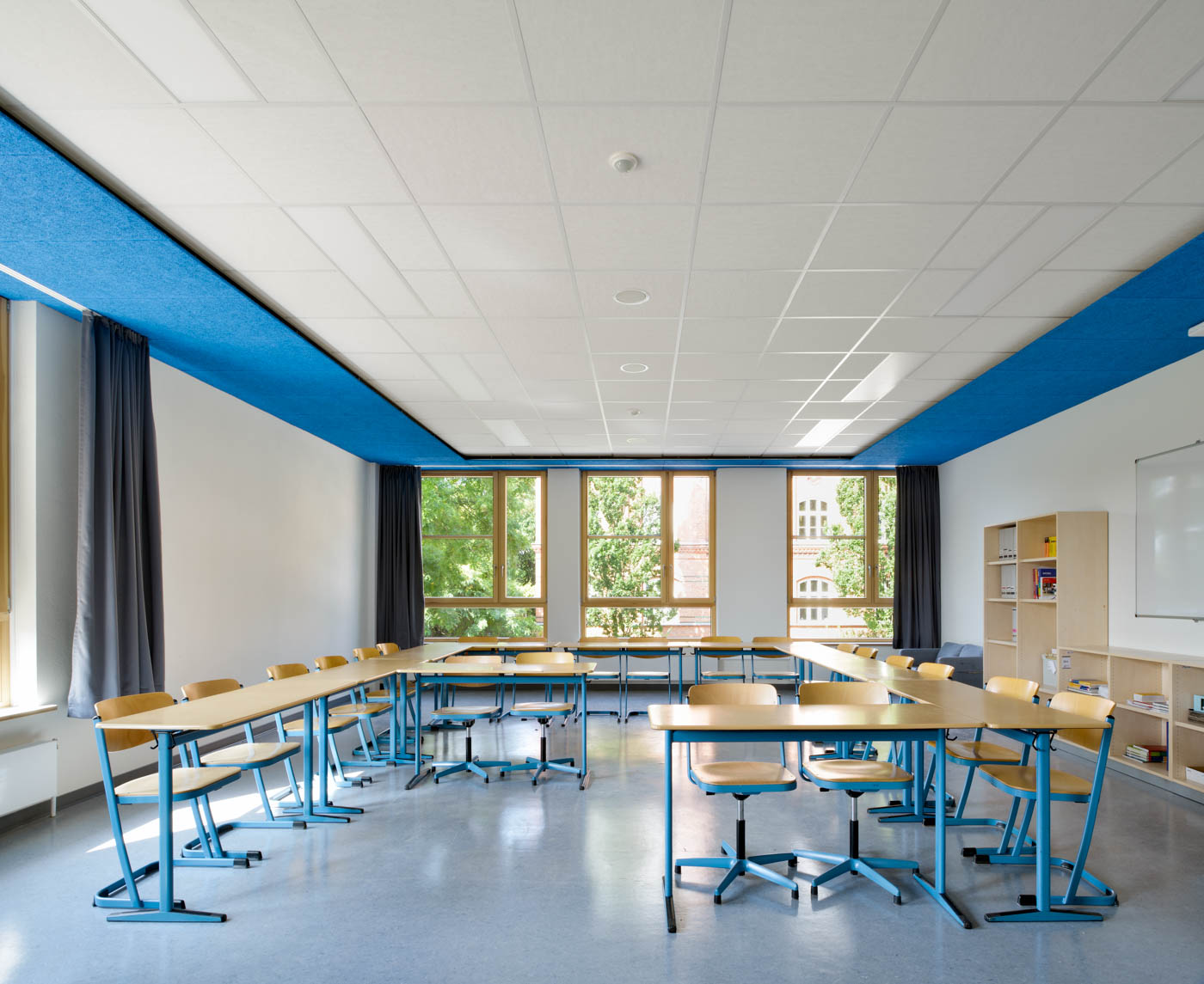 Heinrich-Hertz-Schule Klassenzimmer