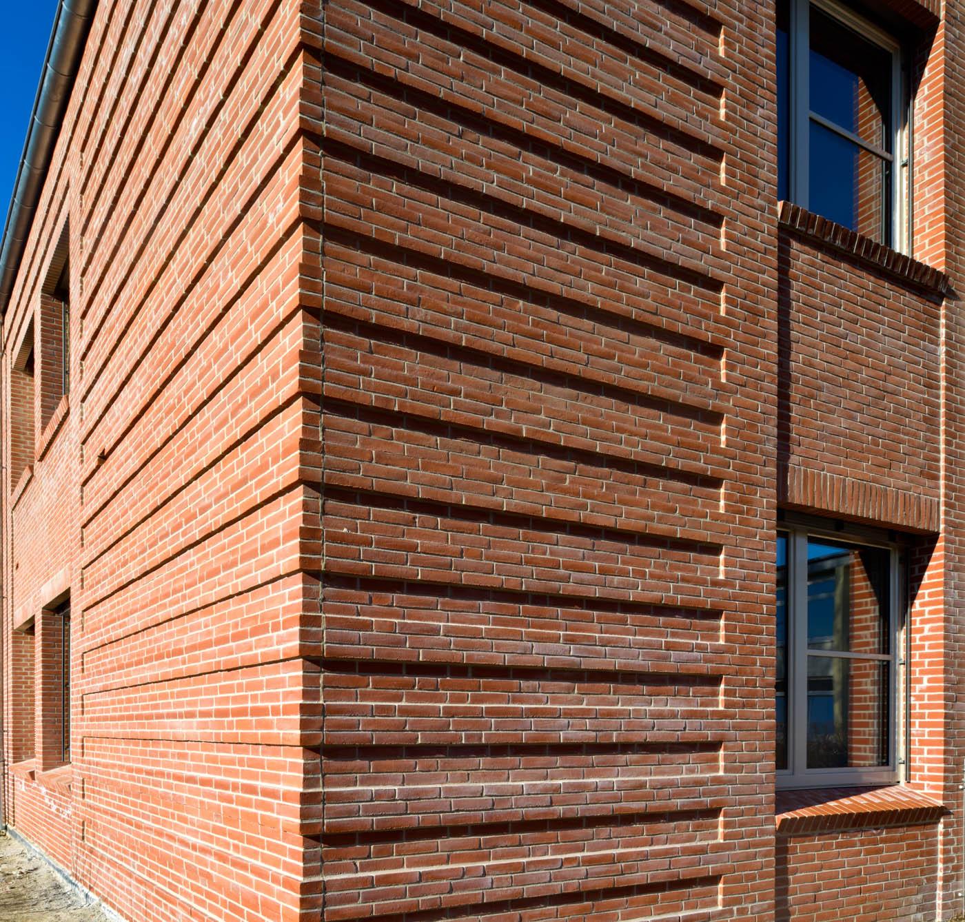 Heinrich-Hertz-Schule Fassaden-Detail