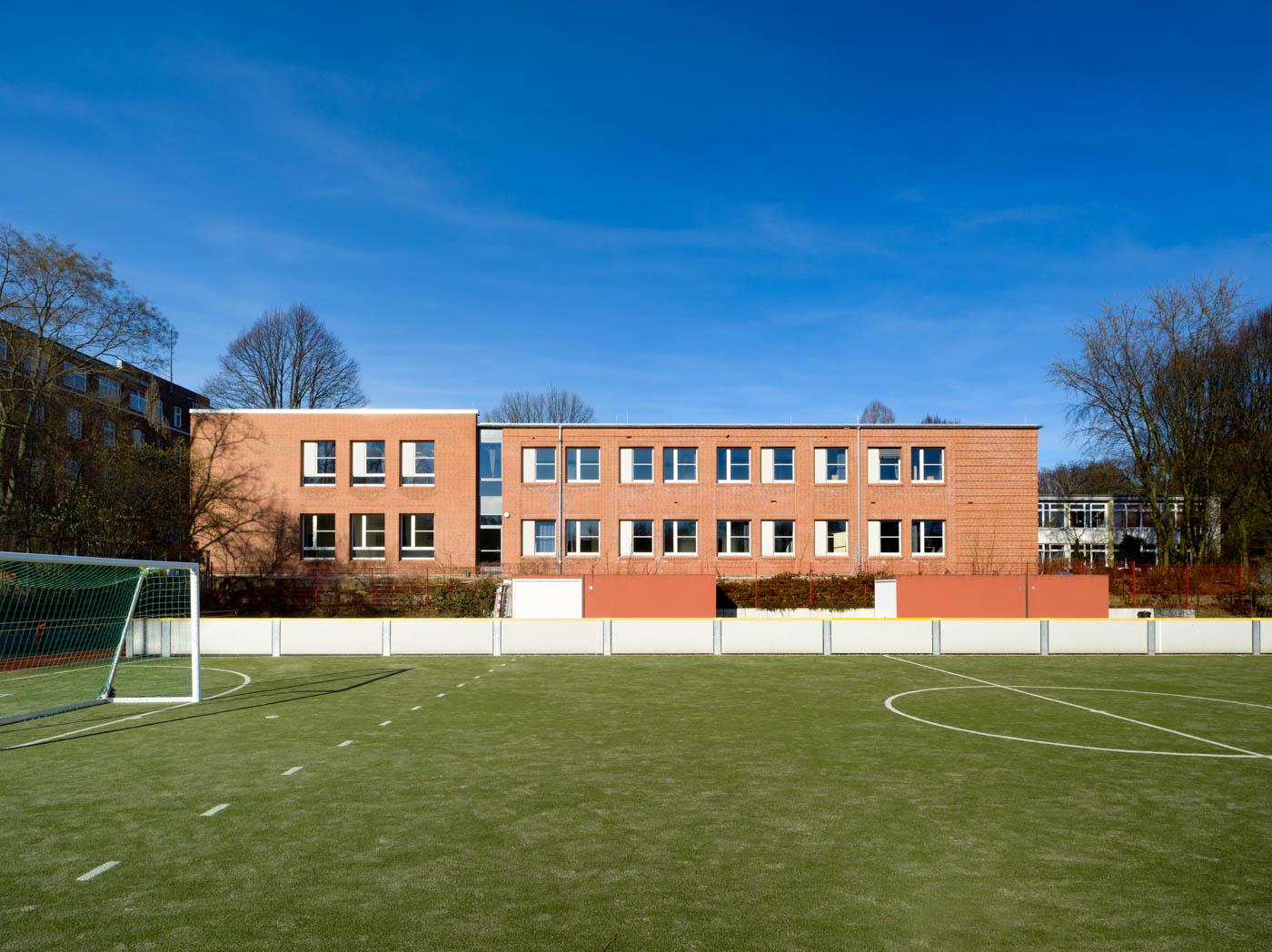 Heinrich-Hertz-Schule Außenansicht Ost
