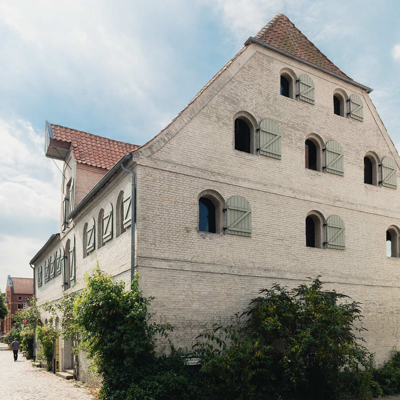 Rimpf Büro im umgebauten alten Speicher in Eckernförde