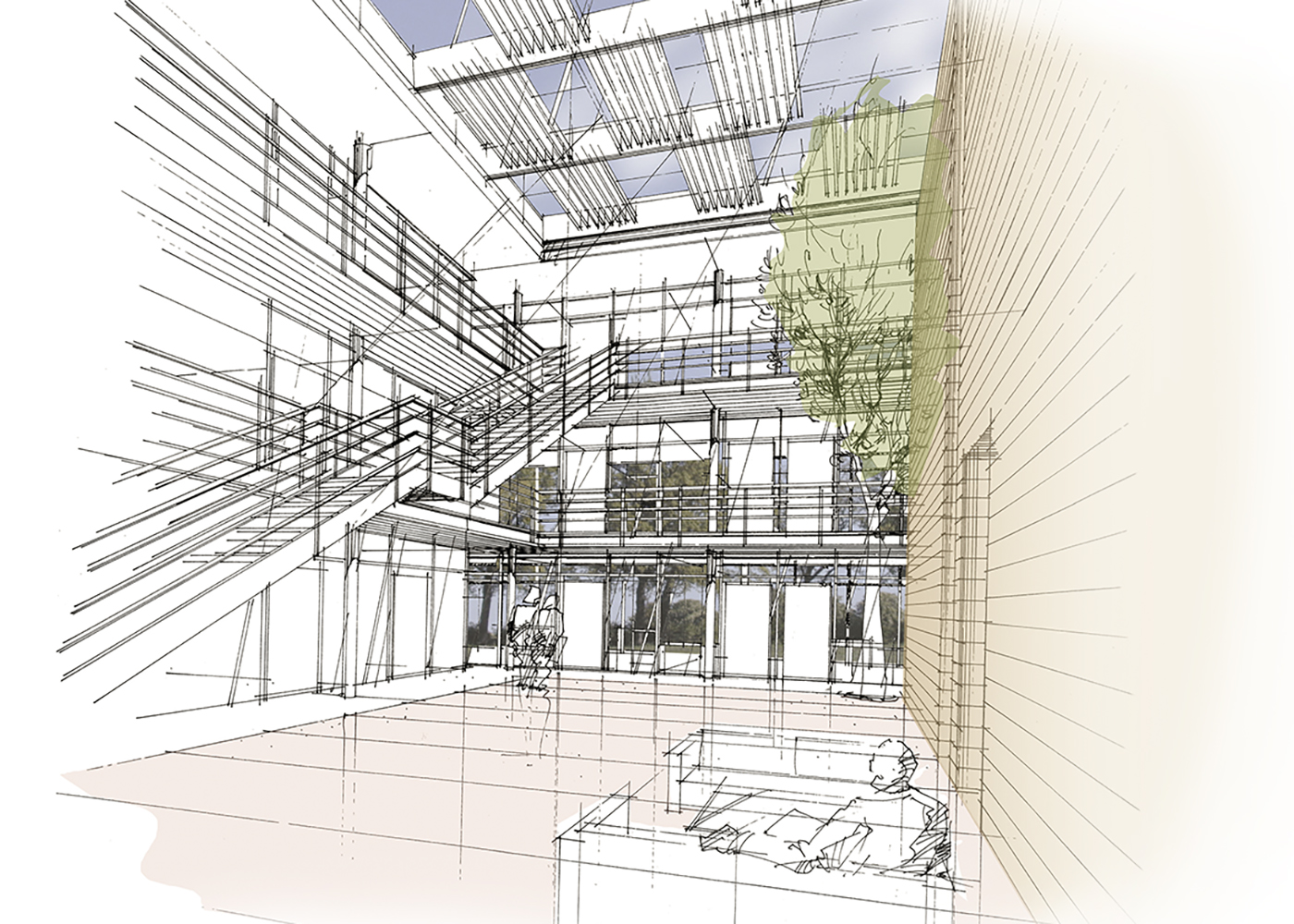 Visualisierung Wettbewerb Bundesverfassungsgericht Karlsruhe