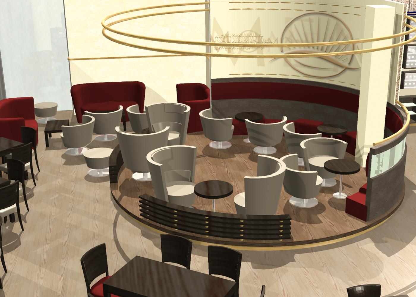 Visualisierung Teekontor Hafencity Meßmer