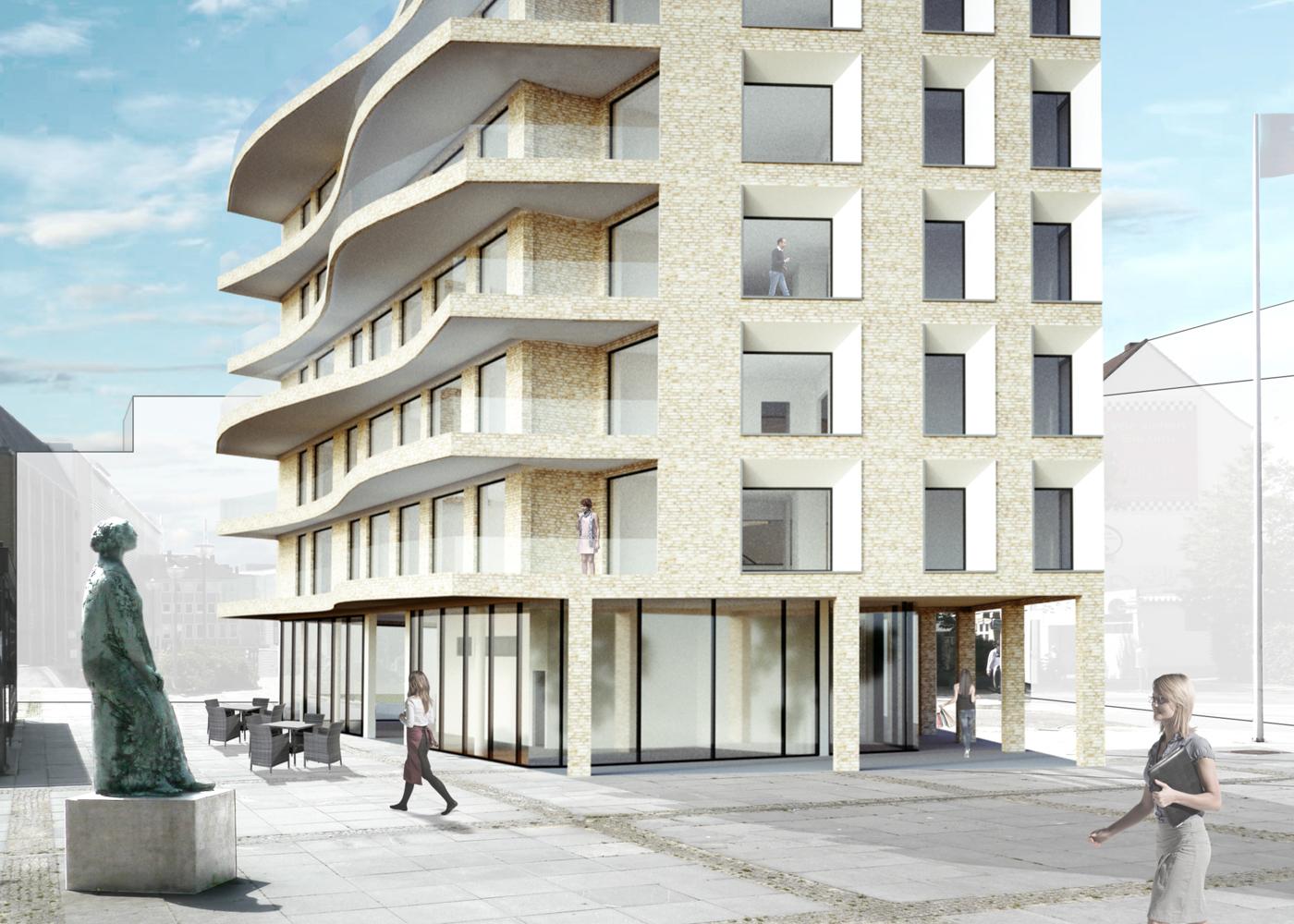 Wettbewerb Visualisierung Schlossquatier Haus 5 NGEG