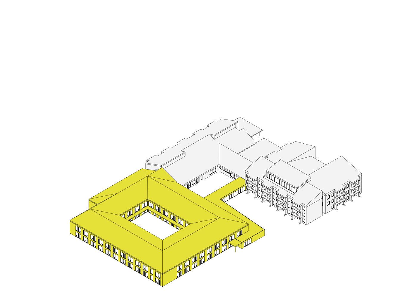 Seniorenzentrum Hohenwestedt Piktogramme Neubau