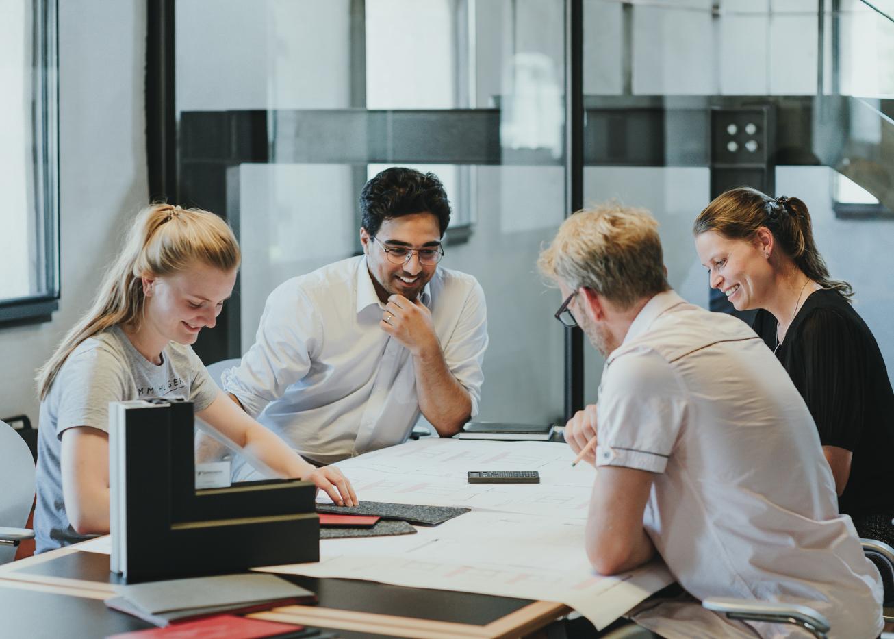 Besprechung im Architekturbüro rimpf in Eckernförde