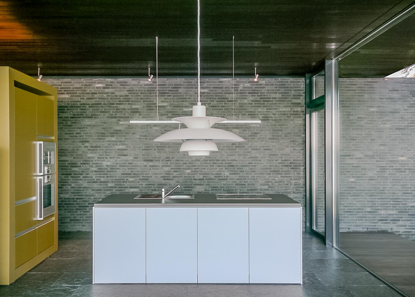 Wohnbereich Küche des Wochenendhaus in Weseby an der Schlei